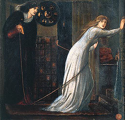 Fair Rosamund ed Eleanor, Burne Jones